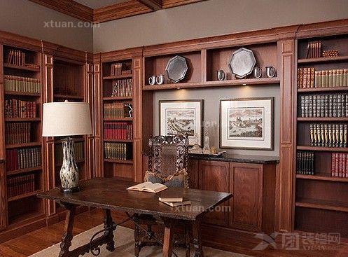 书房装修效果图-给你美式风格气息图片