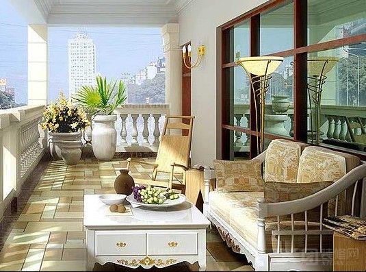 阳台移动门设计-扩展家居花园空间