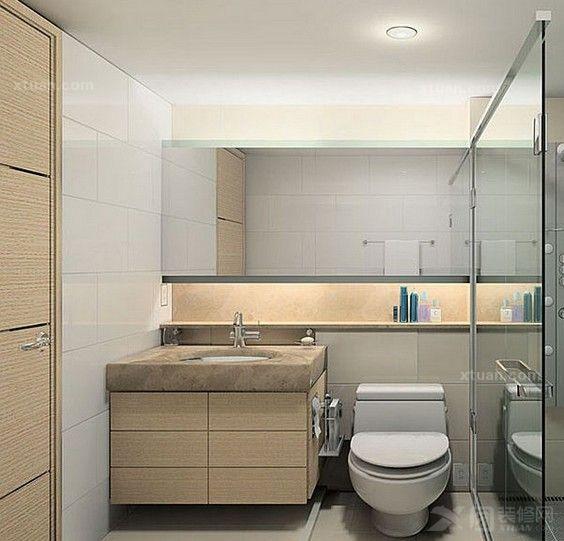 兩室一廳衛生間風水-馬桶鏡子對家運的影響