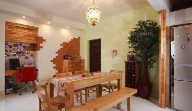 两室一厅混搭风格装修设计案例