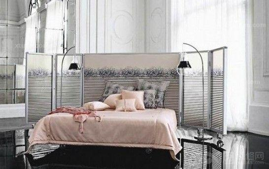 卧室装修效果图-法式现代风格装修案例图片
