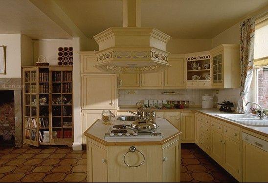 厨房装修效果图-欧式风格气派空间