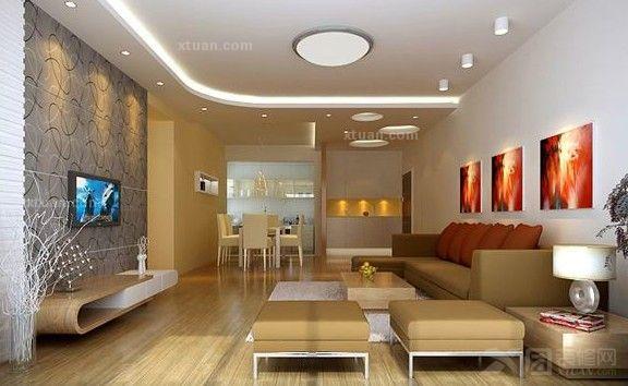 簡約風格三居室如何設計