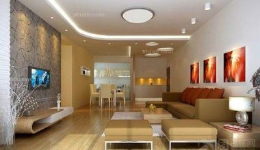 简约风格三居室如何设计