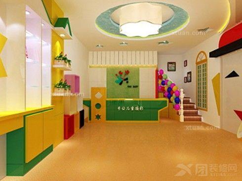 儿童影楼装修设计要注意什么 影楼的设计关键高清图片