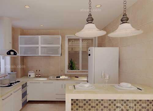 开创生活新格调 欧式开放式厨房