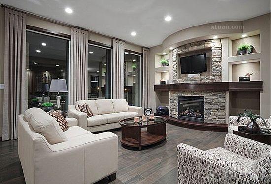 小复式楼客厅设计图片