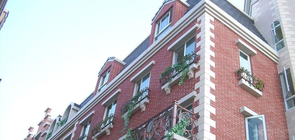 瓷砖效果图图片 楼房外墙瓷砖效果图,楼房外墙瓷砖颜色搭配 高清图片