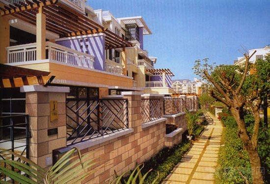 别墅 外墙砖效果图欣赏高清图片
