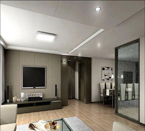 客厅电视墙设计图片欣赏