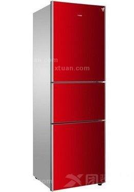 这款海尔双开门冰箱尺寸为:555*628*1208mm