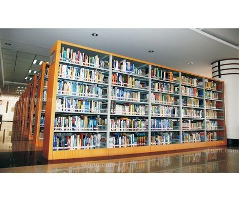 双面书架的材质一般都是钢质的和木质的书架,着两种材质制成的双面