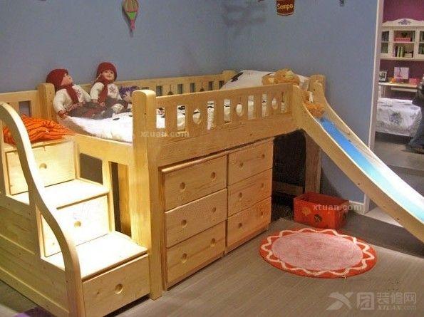 家长的好助手_儿童滑梯床