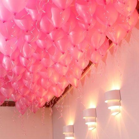 婚房气球布置图片-x团装修网