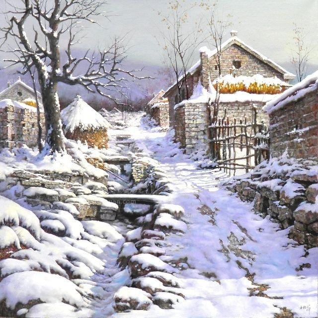 风景油画高清大图欣赏
