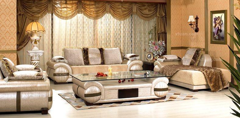 高档沙发一般是采用动物的皮经过特定工艺加工成的