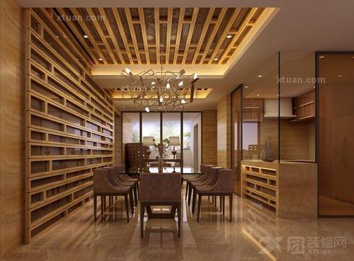 2013现代餐厅吊顶效果图欣赏图片