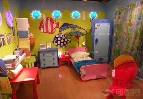 儿童房卧室效果图