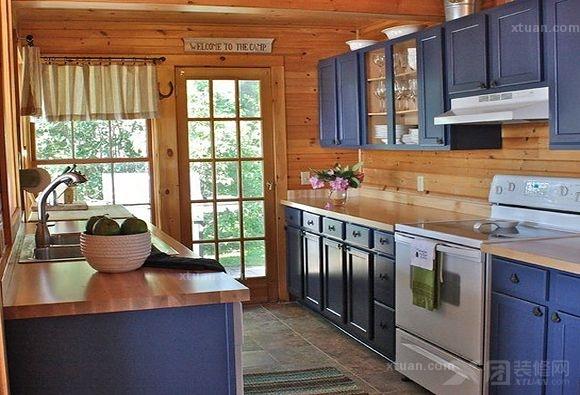 欧式厨房装修样板间图片