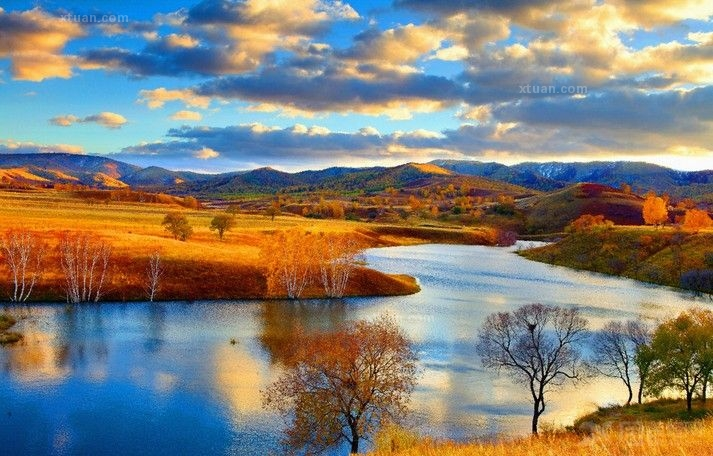 家居装饰画_俄罗斯风景油画欣赏