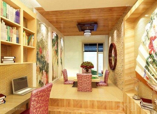 打造简约时尚书房 简约室内书房设计