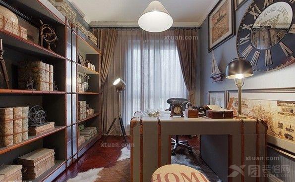 家居 设计 书房 装修 595_368
