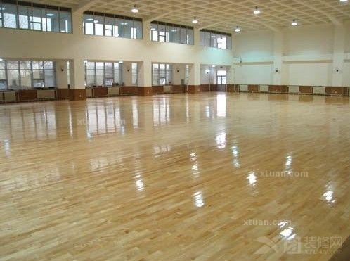 室内运动场所装修_运动地板