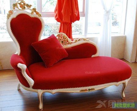 贵妃椅沙发尺寸及图片欣赏