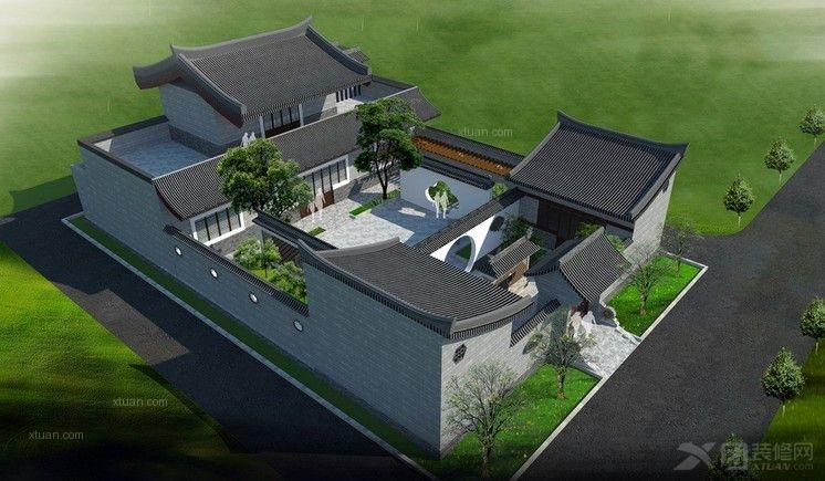四合院别墅设计