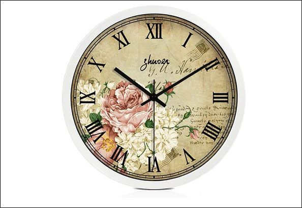 2013精美欧式客厅钟表图片