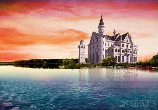 丹麦童话坐落于花溪区风景最美的景观大道甲秀