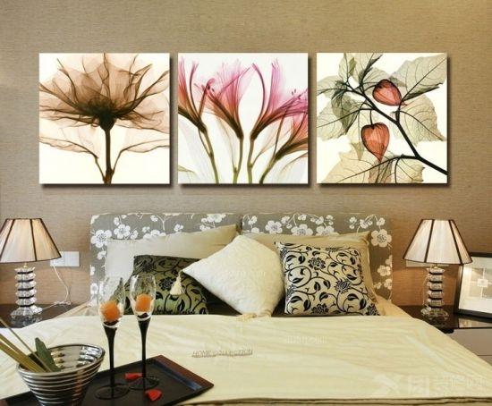 装饰画图片欣赏 家庭装饰画的分类