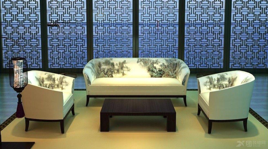 少了金碧辉煌、夸张的装饰与浓烈的色彩,换来满室的芬芳馥郁;多了一股转换时空的魅力,这些人文特色,娴静雅致的迷人意境。借由空间意境与各种美学元素的搭配,将新中式家具的风情诠释得淋漓尽致。 新中式家具图片欣赏二:  同样由原木打造的横梁造型,洋溢华美的造型艺术;典雅白的玄关处精心种植的 新中式家具图片欣赏三:  新中式家具以沉韵的古色古香为底,用现代人的审美观来打造传统。雅致的青莲壁画,勾勒出有如泼墨山水般的意境;上档次的红木配以同色系的脚踏木,在你品茶的闲当,缓解你的疲劳;扑鼻的芳香与天然的纹理让你不由自主