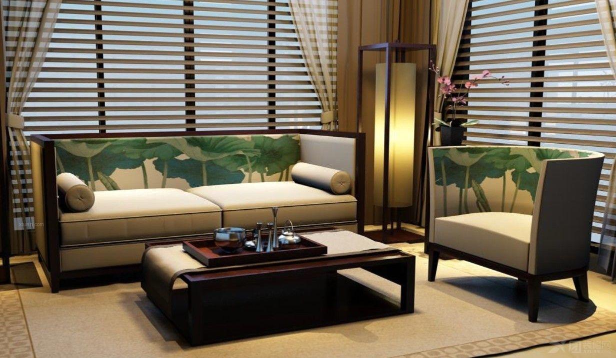 新中式家具 新中式装修效果图 新中式家具品牌排行 新中式沙发高清图片