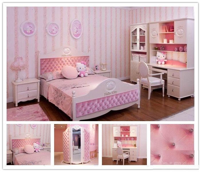现在的房间不像以前的布置了,以前我们的环境条件不是很好,有房子让我们睡觉休息久不错了,没想过什么房间要去怎么布置,但是现在不同了,房间也要分个男女了,有男生睡的房间久有女生睡的房间,时代在变化、我们的房间也在发生着变化。 唯美女生房间布置图片一  看见了这个我们会想到什么呢?