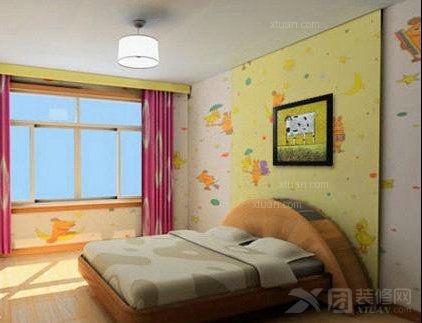 美丽可爱卡通的装饰油画装点儿童房