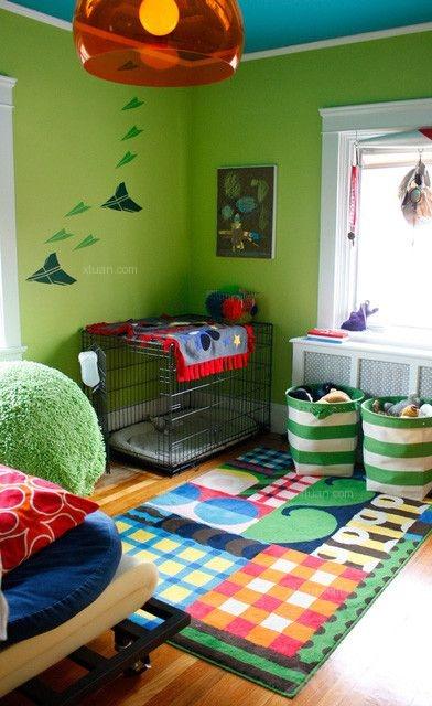 创意儿童房间装修效果图图片
