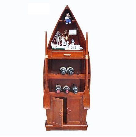 上面设立了一个单独的红酒柜,其他的可以放置白酒或者茶具等物品.
