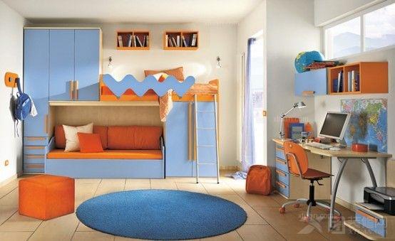 色调最协调的儿童房家具