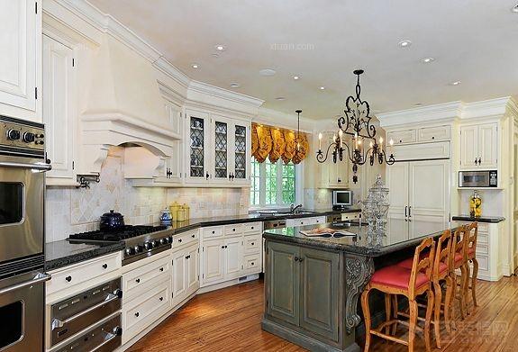 欧式风格厨房装修设计图