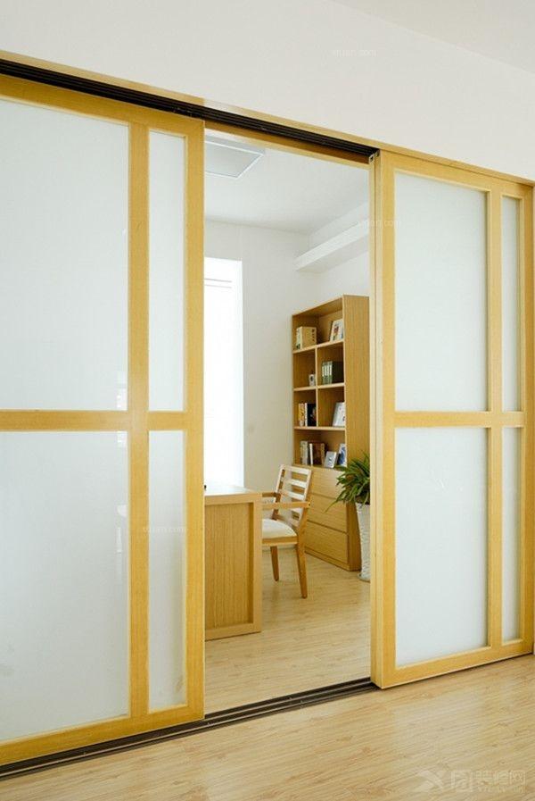 客厅玻璃隔断效果图图片
