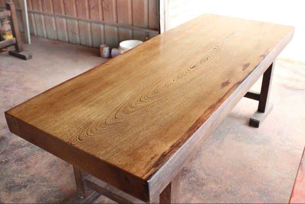 中式餐厅如何选择实木桌子
