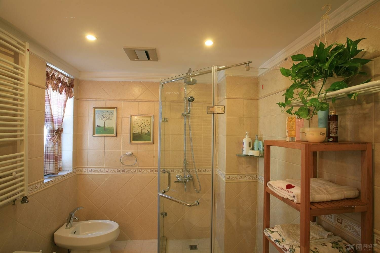 卫生间沐浴房效果图