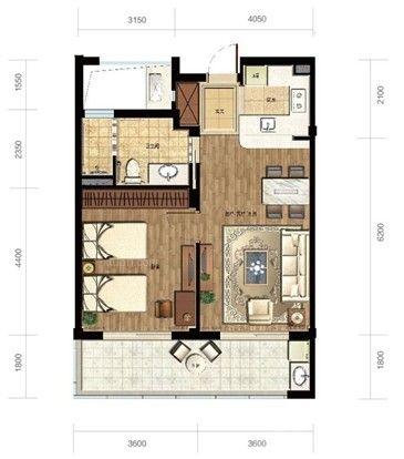 室内平面图欣赏一 室内平面图是我们设计房屋做好的工具和图纸,它能