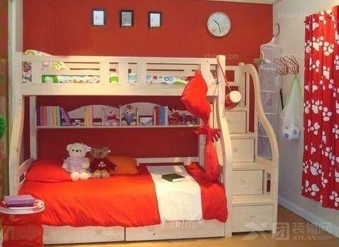 2014儿童上下铺木床图片及价格