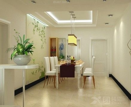 韩式田园风格装修-90平小户型家居设计