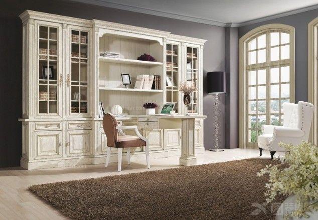 欧式风格书柜,空间性强,实用性高。摆在我们的家里会给我们一种欧式风格的贵气享受!    白色柜门书柜,美国进口纯杨木材质,纯手工雕刻制成,简单独特的造型凸显出宝贝的独特魅力,做工精细,处处彰显出宝贝的高贵典雅,再加上产品本身使用性高,更能深受大众的喜爱。彰显您独特的生活品味。    无柜门白色书柜,典雅的风格,简单大方的造型,使用性高,除了可以再架子上摆放一些书之外,还可以摆放我们喜欢的饰品摆件,给人的空间感强烈。此宝贝做工精细,造型简单优雅,没有更多的复杂点缀,宝贝身体中间部分还有两个小抽屉,精巧可