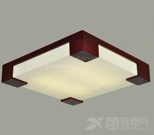 对于一些房间面积较大的空间中,还可以选择统一有变化的吸顶