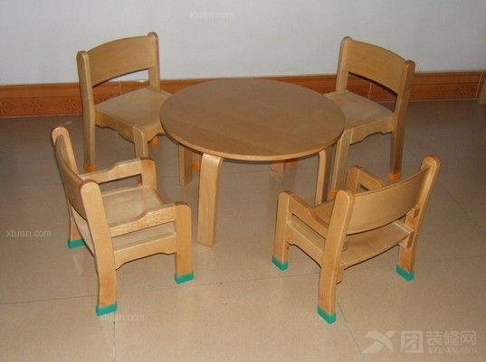 实木电脑桌实木儿童书桌椅 高质量书桌椅内销出口;