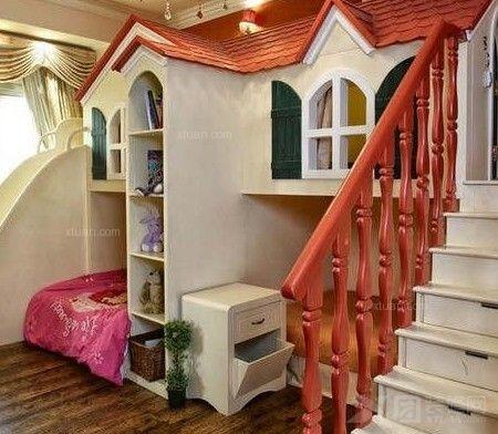 公主城堡儿童房装修